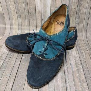 Sofft Alexandra Oxford Navy Blue 8.5